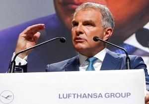 مدیر شرکت هواپیمایی لوفتهانزا: اعتراضات تغییرات آب و هوایی بر تعداد پروازها بیتاثیر است