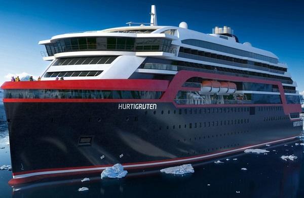 حرکت نخستین کشتی هیبریدی جهان در دریای نروژ