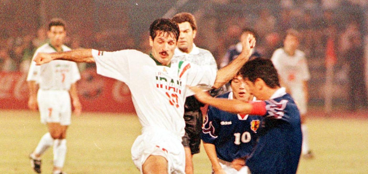 گزارش AFC از بازیهای فراموش نشدنی انتخابی جام جهانی ۱۹۹۸