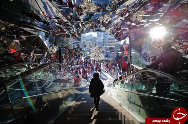 لوکسترین مرکز خرید توکیو در عکس روز نشنال جئوگرافیک