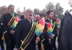 پیادهروی قدم به قدم در جشن میلاد امام رضا (ع) + فیلم