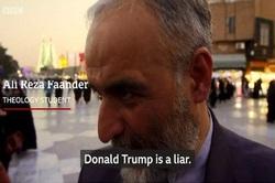 پاسخ ایرانیها به خبرنگار بیبیسی درباره ترامپ و تحریمهای آمریکا