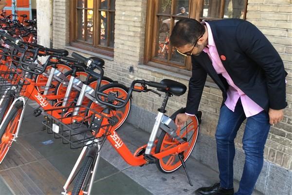 کاظمی/ راه اندازی ۲۸ ایستگاه دوچرخه اشتراکی در منطقه ۱۱/ دوچرخههای برقی و دندهای در آستانه اشتراک عمومی