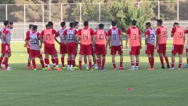 انگیزه بالای جوانان دعوت شده توسط ویلموتس در برابر تیم ملی فوتبال امید +فیلم