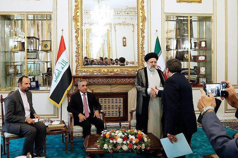 دیدار رئیس شورای عالی قضایی عراق با رییس قوه قضاییه
