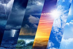 رگبار باران همراه با رعد و برق در مناطقی از جنوب و جنوب شرق کشور/آسمان تهران کمی ابری است