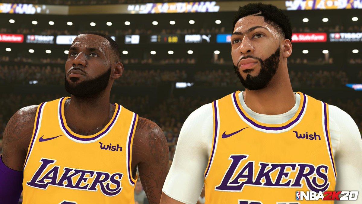 ۲۰ بازیکن برتر بازی NBA 2K20