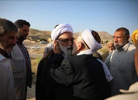 حضور تولیت آستان قدس رضوی در روستای محروم گوجگی +فیلم