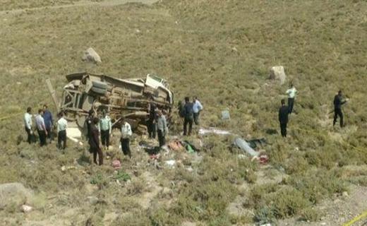 آخرین جزییات از سقوط مینی بوس در خوانسار/ ۲۱ کشته و زخمی