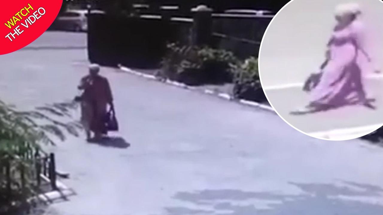 لحظه ربودن نوزاد توسط زن غریبه در بیمارستان! + فیلم///
