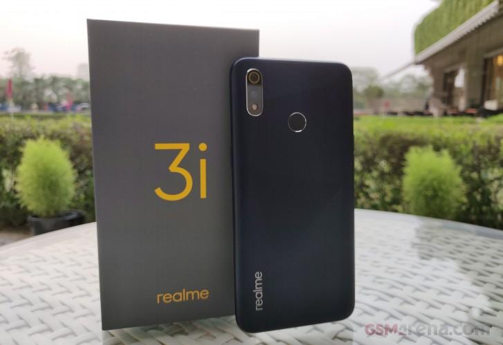 رونمایی گوشی Realme 3i با تراشه قدرتمند Helio P60