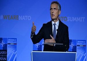 استولنبرگ: خروج روسیه از پیمان آی ان اف با پاسخ موثر ناتو همراه خواهد بود