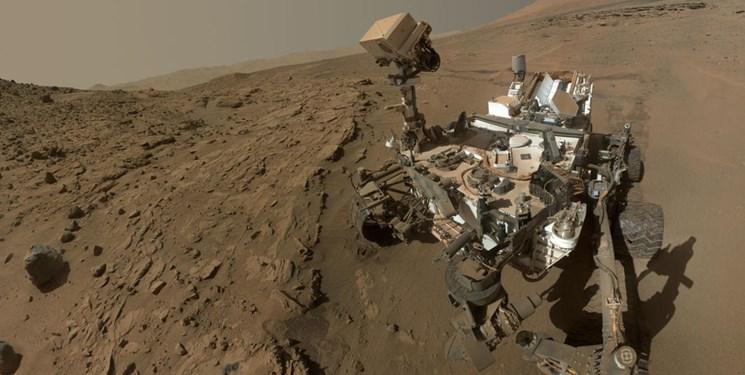تصویر حیرتانگیز یک کاوشگر از «کوه» مریخ