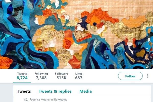 واکنش سخنگوی موگرینی به نقشهای از خاورمیانه که در توئیتر جنجال بپا کرد + تصویر