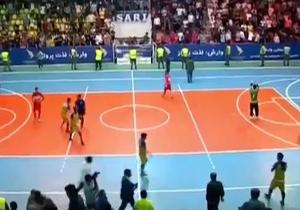 باشگاه خبرنگاران -خلاصه فوتسال شهروند ساری و فرش آرا مشهد در ۲۵ تیر ۹۸ + فیلم