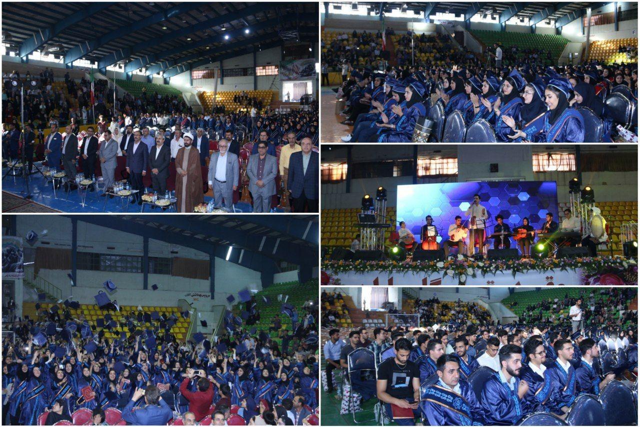 برگزاری جشن دانش آموختگی دانشجویان علوم پزشکی کرمان