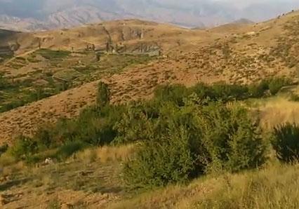 باشگاه خبرنگاران -نمایی از طبیعت زیبا در روستای چاله + فیلم
