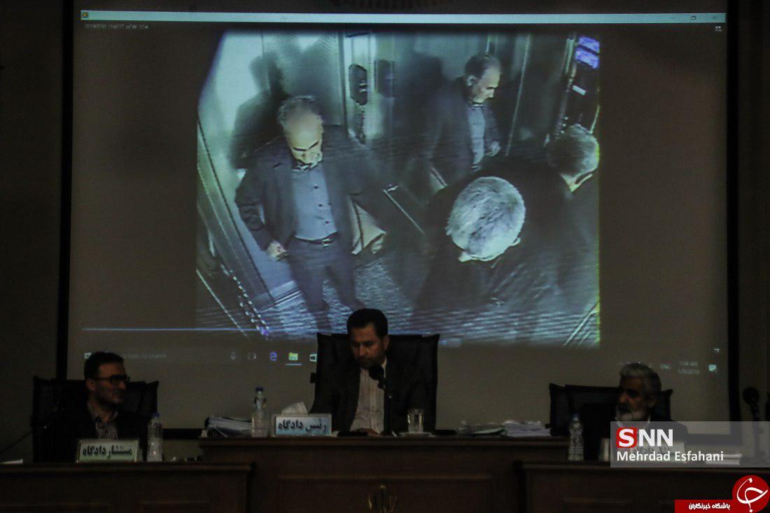 تصویری دیده نشده از حضور نجفی در آسانسور منزل میترا استاد