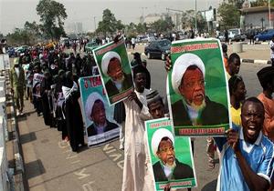 حمله ارتش نیجریه به هواداران شیخ زکزاکی