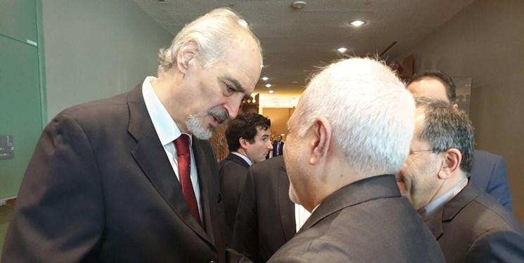 گفتوگوی نماینده سوریه در سازمان ملل با ظریف