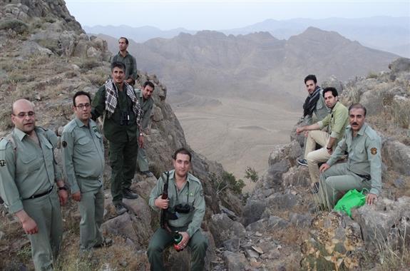 تجلیل از محیط بانان استان مرکزی
