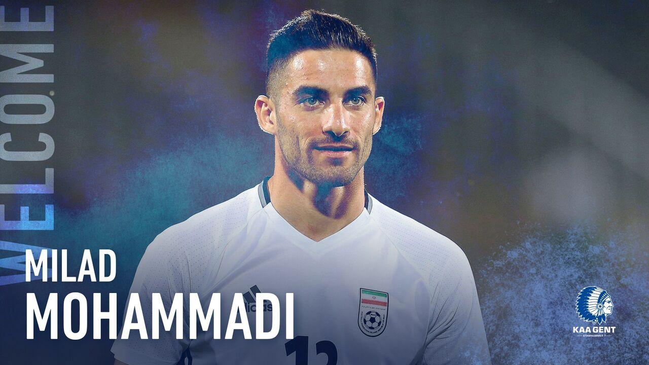 بازتاب پیوستن میلاد محمدی به تیم بلژیکی در سایت AFC