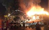 باشگاه خبرنگاران -جزئیات آتش سوزی میدان حسن آباد تهران از زبان سخنگوی آتش نشانی + فیلم