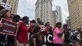 باشگاه خبرنگاران -اعتراض صدها نیویورکی به تبرئه افسر قاتل مرد سیاهپوست+ تصاویر