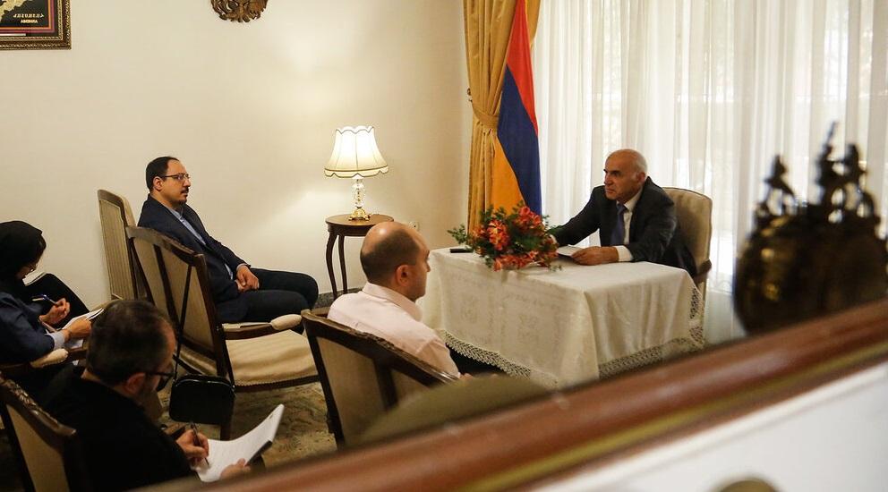 ارمنستان و ایران به دلیل مشترکات فرهنگی بسیار، روابط دوستانه عمیقی دارند/بدون فرهنگ و هنر روابط میان کشورها خشک و بیروح خواهد بود/ در کنار روابط اقتصادی و سیاسی، روابط فرهنگی هم دارای اهمیت است
