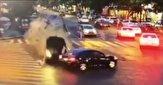 فاجعهای که ناشیگری راننده در چهارراه رقم زد! +فیلم