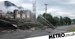 آتش سوزی در هتلی در انگلیس