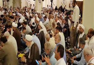برگزاری دعای کميل در مدينه منوره + فیلم