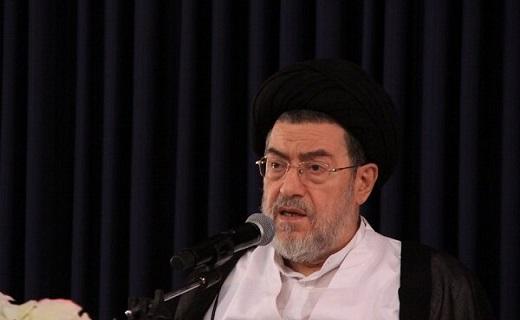 پیکر حجت الاسلام حائری در جوار بانوی کرامت آرام گرفت