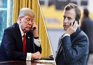 گفتوگوی تلفنی روسای جمهور فرانسه و آمریکا درباره ایران