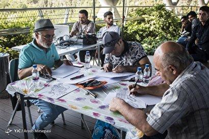 گردهمایی هنرمندان کارتونیست و کاریکاتوریست