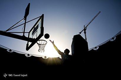 سومین دوره مسابقات بسکتبال خیابانی