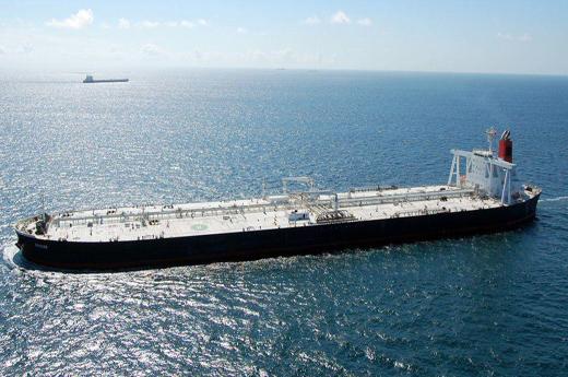 گاردین از بازگشت کشتی مصدر به مسیر خود در خلیج فارس خبر داد