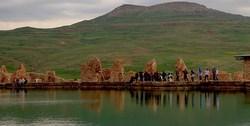 دریاچهای اسرارآمیز  در ایران که احتمالا انگشتر حضرت سلیمان درون آن نهفته است! + تصاویر