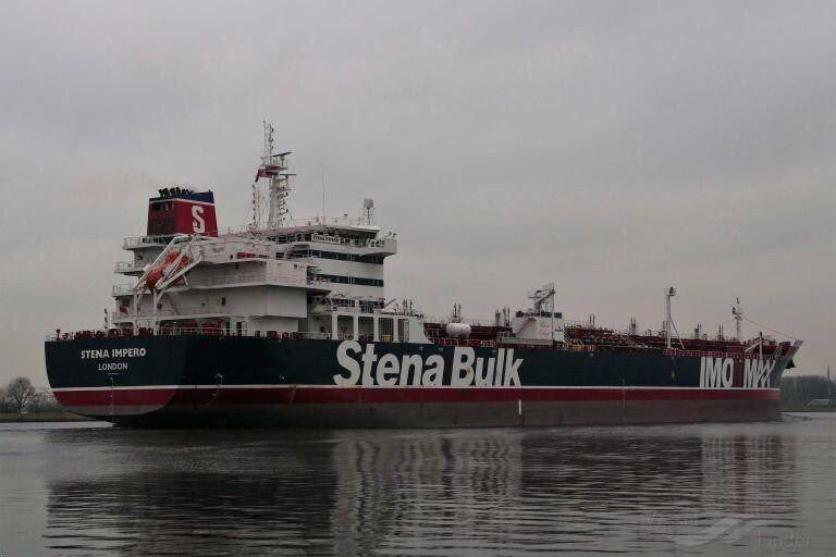 سه تخلف نفتکش انگلیسی توقیف شده در خلیج فارس +فیلم