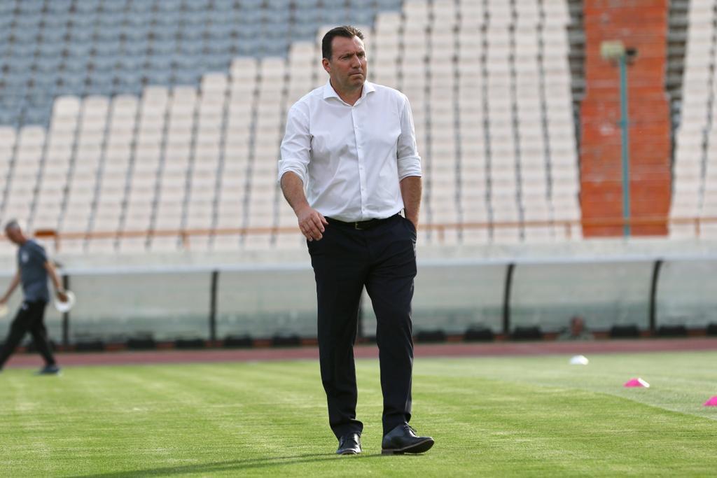 ویلموتس: قرعه تیم ملی فوتبال ایران آسان نیست/ هدف ما تنها کسب عنوان نخست گروه است