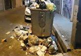 باشگاه خبرنگاران -گلایه یک شهروند از بیتوجهی به جمعآوری زبالهها در شهر ری + فیلم