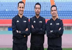 قضاوت داوران ایرانی در مرحله نیمه نهایی رقابتهای ای اف سی کاپ