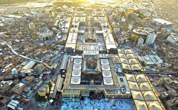 آخرین وضعیت صحن حضرت زهرا(س)/اتمام اسکلت پروژه صحن حضرت زینب(س) تا اربعین