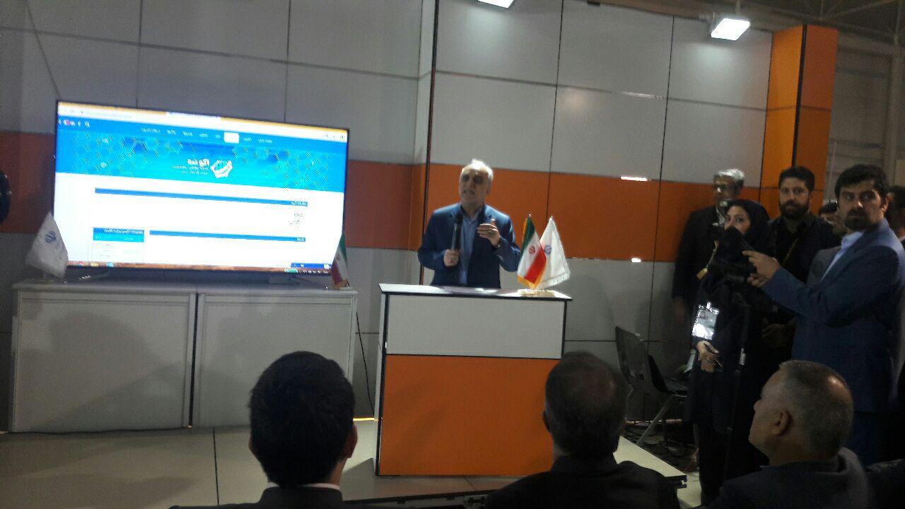دژپسند از نمایشگاه الکامپ بازدید کرد/ تحقق اقتصاد دیجیتال تا پایان دولت دوازدهم