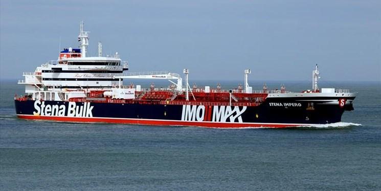 خروج ۲۳ خدمه نفتکش انگلیسی از کشتی منوط به دستور قضائی