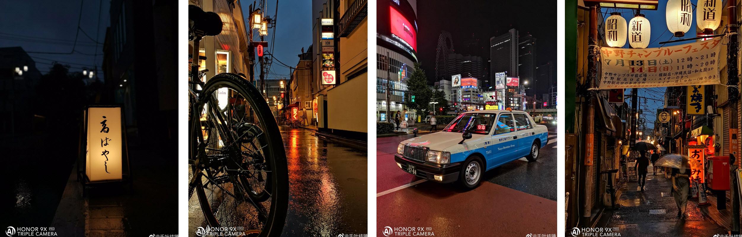 تبلیغ آنر از تواناییهای دوربین 9X Pro در شرایط نوری نامناسب +تصاویر