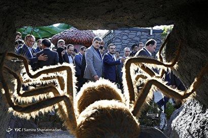افتتاح بوستان حشرات غول پیکر