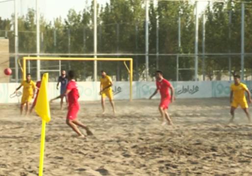 آمادگی ملی پوشان فوتبال ساحلی کشور برای درخشش در المپیک قطر + فیلم