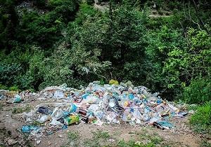زبالههای رها شده در طبیعت زیبای «جواهرده» + فیلم