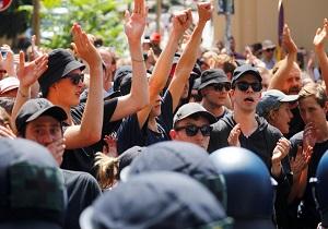 برگزاری تجمع حمایت از پلیس در هنگکنگ